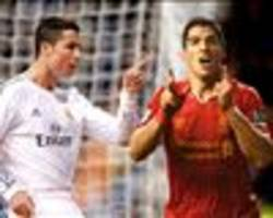 suarez edges further clear of ronaldo in european golden shoe race