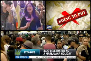 How CNN, MSNBC and Fox News Covered 4/20