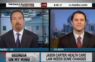 Jimmy Carter Grandson Tells MSNBC He Can't Block Confederate License Plates in Georgia