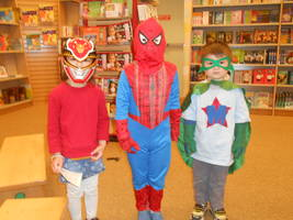 Super Heroes Kicks Off Easter Weekend at Barnes & Noble Milford