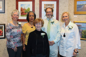 Brushstrokes: Oil & Watercolor Art Show at Barnes Gallery a Success