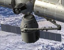 SpaceX Dragon Successfully Docked With The Space Station